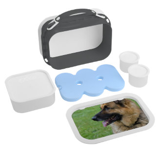 German Shepherd Profile Yubo Lunch Box