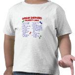 GERMAN SHEPHERD Property Laws 2 T Shirts