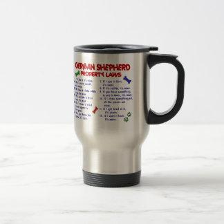 GERMAN SHEPHERD Property Laws 2 Travel Mug