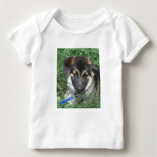 German Shepherd Pup Infant t-Shirt
