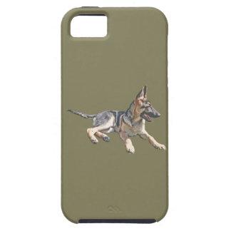 German Shepherd pup iPhone SE/5/5s Case