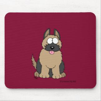 German Shepherd Pup Mouse Pad