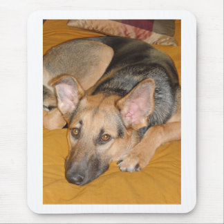 German Shepherd Pup Mouse Pad