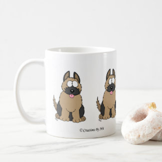 German Shepherd Pup Mug