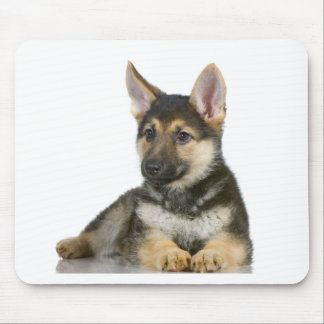 german shepherd pup puppy dog mouse pad