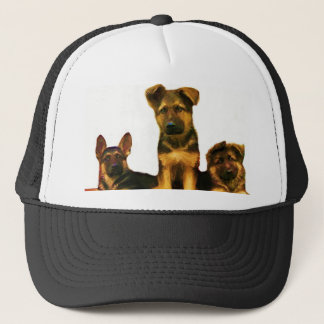 German Shepherd puppies cap