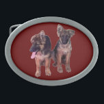 "German Shepherd puppies Custom Belt Buckles<br><div class=""desc"">German Shepherd puppies Custom Belt Buckles</div>"