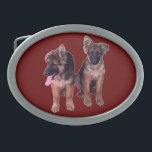 "German Shepherd puppies Custom Belt Buckles<br><div class=""desc"">German Shepherd puppies Custom Belt Buckles</div>"