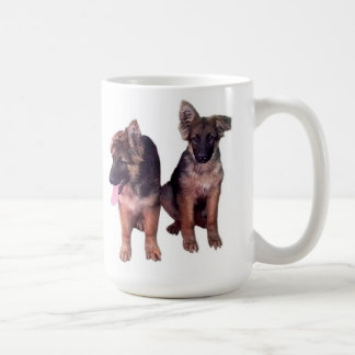 German Shepherd puppies Custom Mug