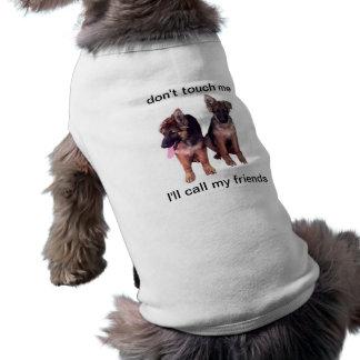 German Shepherd puppies Pet Clothing