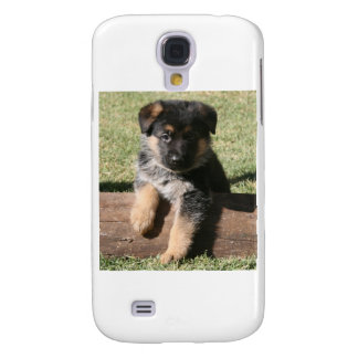 "German Shepherd Puppy ""Big Max"" Galaxy S4 Case"