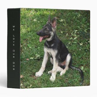 German Shepherd Puppy Binder
