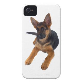 German Shepherd Puppy Case-Mate iPhone 4 Cases