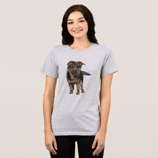 German Shepherd Puppy Drawing T-Shirt