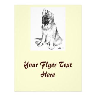 German Shepherd Puppy Flyers