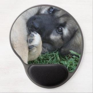 German Shepherd Puppy Gel Mouse Pads