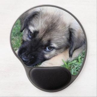 German Shepherd Puppy Gel Mouse Pad