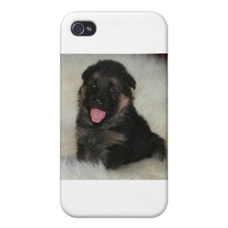 "German Shepherd Puppy ""Imagine"" iPhone 4 Covers"
