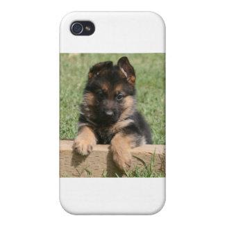 German Shepherd Puppy Cases For iPhone 4