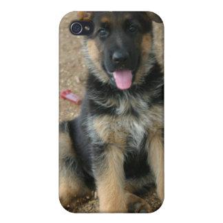 German Shepherd Puppy iPhone Case iPhone 4/4S Covers