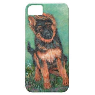 German shepherd puppy iPhone SE/5/5s case