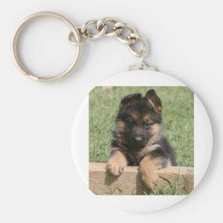 German Shepherd Puppy Key Chains