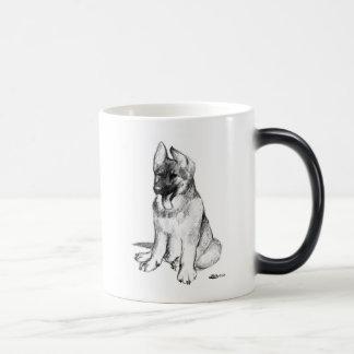 German Shepherd Puppy Magic Mug