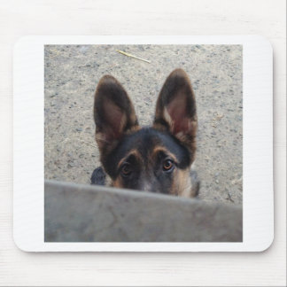 German shepherd puppy mousemat mouse pad