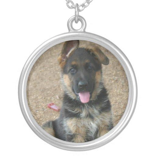 German Shepherd Puppy Necklace