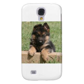 German Shepherd Puppy Samsung Galaxy S4 Case