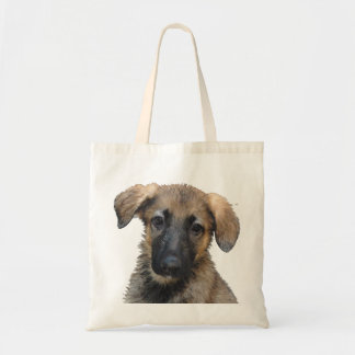 German Shepherd Puppy Tiny Tote