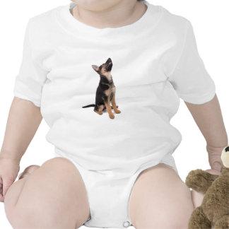 German shepherd puppy tee shirt