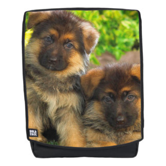 German Shepherd Pups Backpack