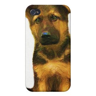 German shepherd pups Speck Case Case For iPhone 4