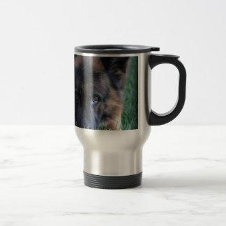 German Shepherd Randy vom Leithawald 15 Oz Stainless Steel Travel Mug