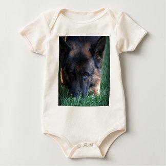 German Shepherd Randy vom Leithawald Baby Bodysuit