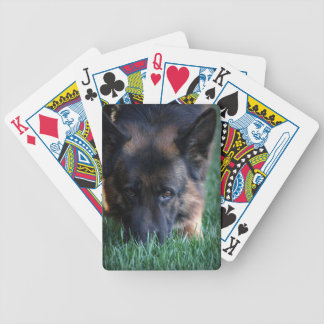 German Shepherd Randy vom Leithawald Bicycle Playing Cards