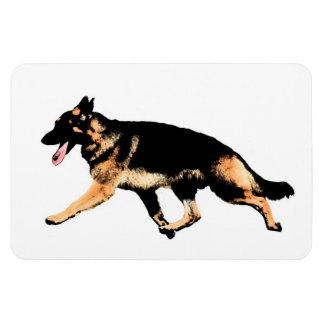 German Shepherd Rectangular Photo Magnet