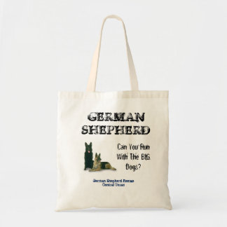 German Shepherd Rescue Central Texas tote bag