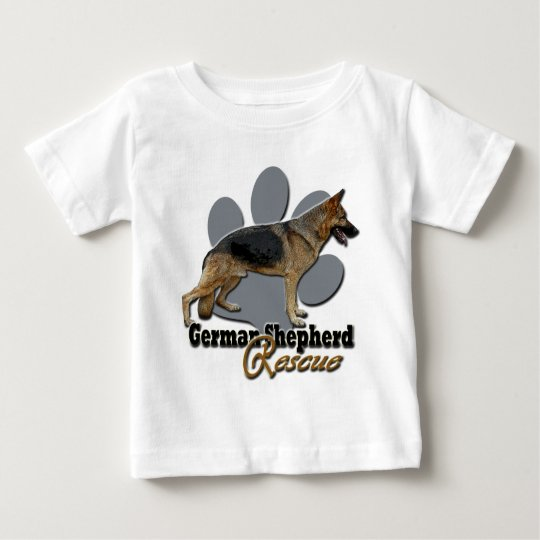 German Shepherd Rescue Design 2 Baby T-Shirt