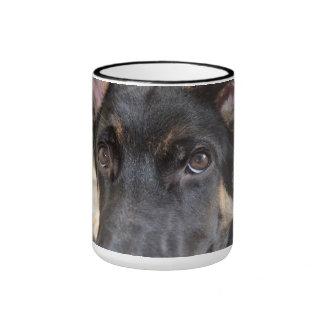 German Shepherd Ringer Mug