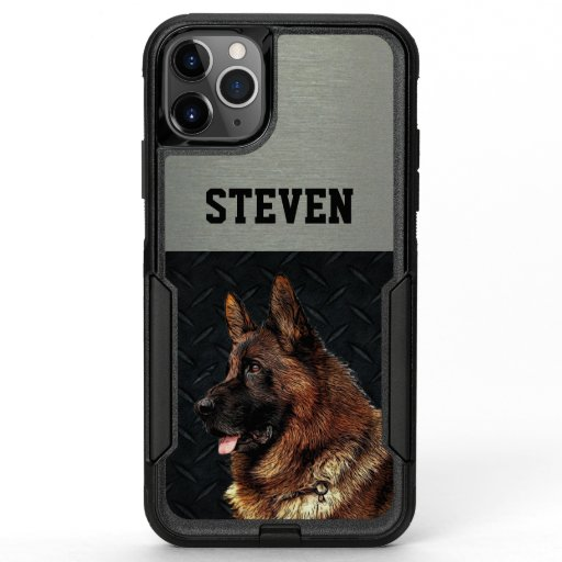 German Shepherd Rugged Name Cool Dog Animal  OtterBox Commuter iPhone 11 Pro Max Case