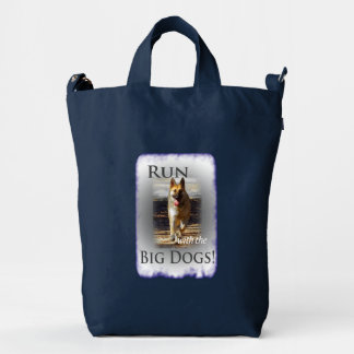 German Shepherd Running Duck Bag