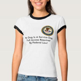 German Shepherd Service Dog TShirt