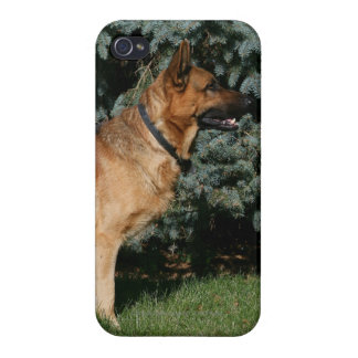 German Shepherd Show Stand iPhone 4/4S Cover