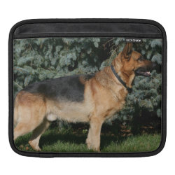 German Shepherd Show Stand Sleeve For iPads