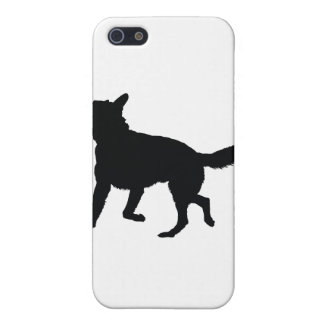 German Shepherd Silhouette Cover For iPhone 5