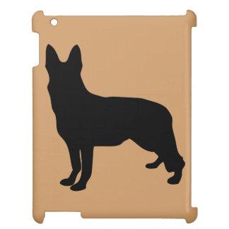 German Shepherd Silhouette iPad Case