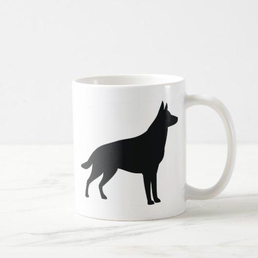German Shepherd Silhouette Mug