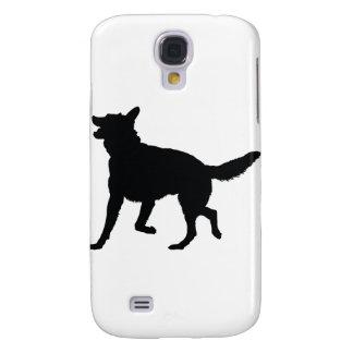 German Shepherd Silhouette Samsung S4 Case